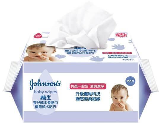 嬌生濕紙巾